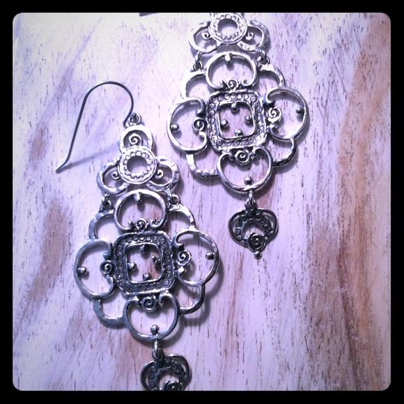 e9cffec2e Now Zuman Sterling Silver Chandelier Earrings NWOT.  M_5b2c5b7004e33dfc72f00507